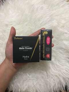 Paket purbasari lipstick & bedak