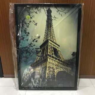 Eiffel Tower Portrait (Brand New)