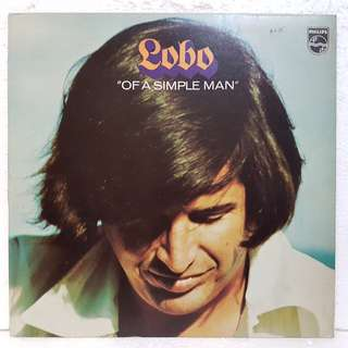 "Reserved: Lobo - ""Of A Simple Man"" Vinyl Record"