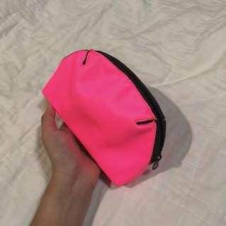 Mini makeup bag (neonpink)