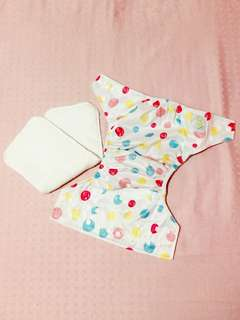 Baby Leaf Cloth Diaper