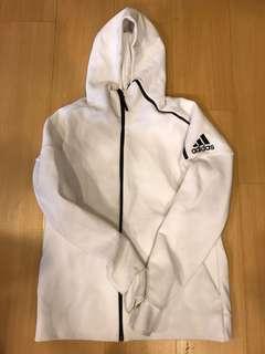🚚 Adidas Z.N.E白色連帽外套