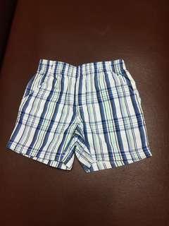 Koala kids checkered shorts