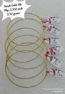 Saudi Gold 18k bangle