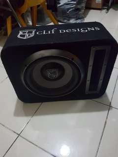 Subwoofer Aktive  Merk Clif Designs
