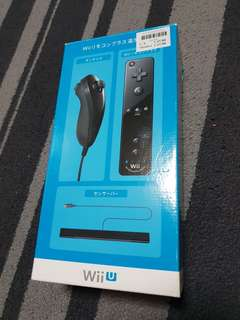 Wii nintendo controller + nunchuk set