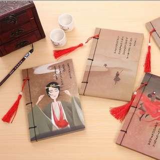 dynasty design notebook