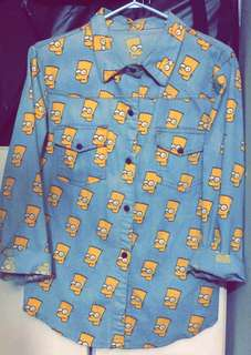 Bart Simpson denim