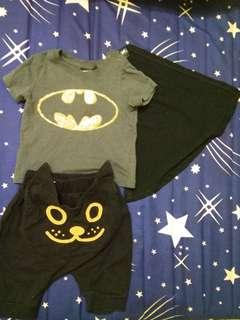 Batman Shirt set