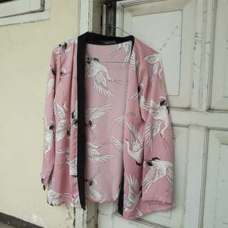 Birdie pink outer