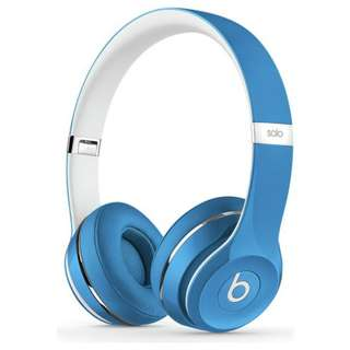 Beats Solo2 Luxe Edition On-Ear Headphones - Blue