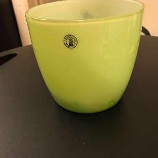 Green Handmade Vase