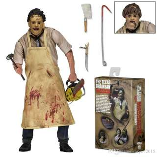 NECA Texas Chainsaw Massacre – 7″ Scale Action Figure – 40th Anniversary Ultimate Leatherface