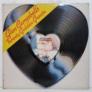 Glen Campbell's Twenty Golden Greats Vinyl Record
