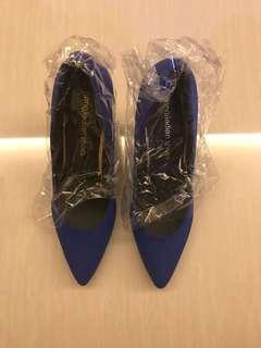 Brand new blue heels