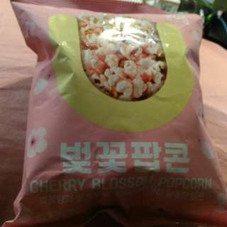 🚚 韓國 櫻花香味草莓口味爆米花