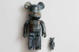 FDMTL X Medicom Toy Bearbrick Be@rbrick 400%+100%