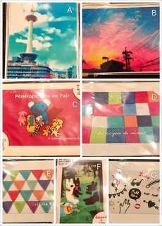 Colorful 八達通學生證職員證貼紙  Octopus Student Card Staff Card Sticker 全新未開封 保證日本正版正貨