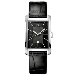 WINDOW BLACK LEATHER MEN'S WATCH K2M23107