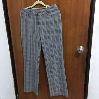 🚚 格紋長褲
