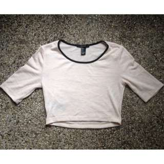 SALE! Forever 21 knitted Cropped top