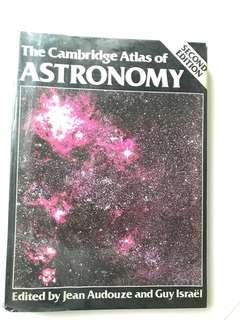 Cambridge Atlas of Astronomy bought from Kinokuniya