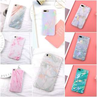 [PREORDER] Marble stone printed soft phone case