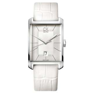 WINDOW WHITE LEATHER MEN'S WATCH K2M21120