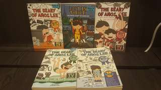 The Diary of Amos Lee! 5 Books for $12