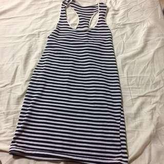 Stripes Racer Dress