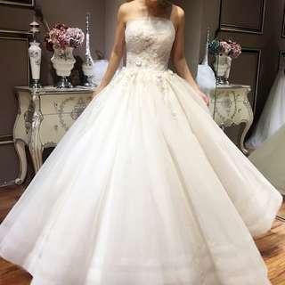 pre order white ball puffy wedding bridal dress gown  RB0631