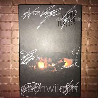 BTS Young Forever Promo Signed