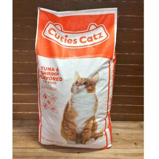 Cuties Catz Tuna and Shrimp Cat Food