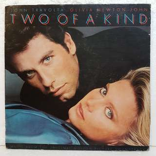John Travolta*Olivia Newton-John - Two Of A Kind Vinyl Record