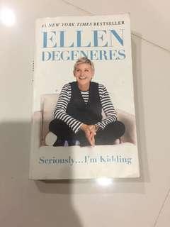 Ellen and Simon Cowell book