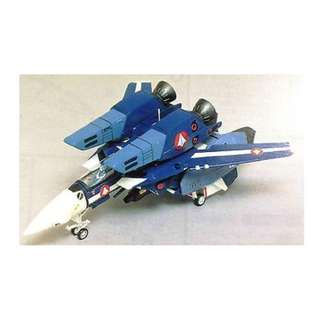 絕版 1989年 Bandai 超時空要塞 15th Anniversary Macross 1/72 VF-1J Valkyrie Super Fighter Max type 模型1盒