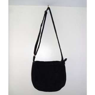 Charity Sale! Kid's Black Suede Bag Crossbody handbag