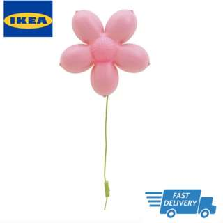 IKEA SMILA BLOMMA Wall lamp, light pink  FAST DELIVERY