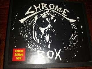 Music CD (3xCD): Chrome –Chrome Box - Industrial, Punk, Experimental