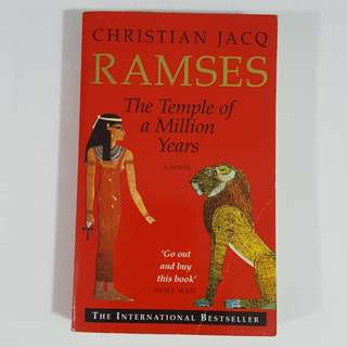 Ramses: The Temple of a Million Years (Ramses, #2) by Christian Jacq