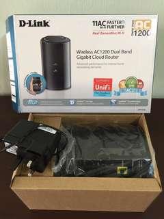 D-Link DIR-850L dual band AC1200 Gigabit Cloud Router