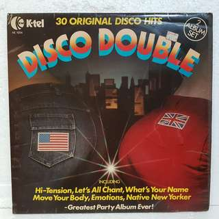 2LPs》Disco Double - 30 Original Disco Hits Vinyl Record