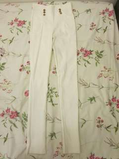 White Stretchable Jeans