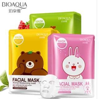 Moisturizing Facial Sheet Masks