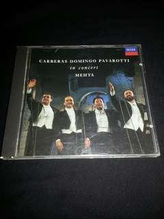 CD Carerras Domingo Pavarotti. Concert. Mehta