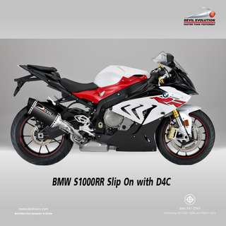 Devil Exhaust Systems Singapore BMW S1000RR 2015 - 2016 D4C ! Ready Stock ! Promo ! Do Not PM ! Kindly Call Us ! Kindly Follow Us !  Kindly Join Us As Members To Enjoy More Goodies !