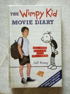 The Wimpy Kid Movie Diary hardcover