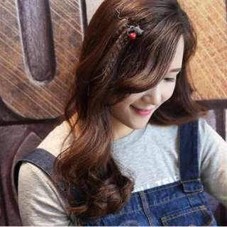NEW Diamond Kitty Gold Hair Clip