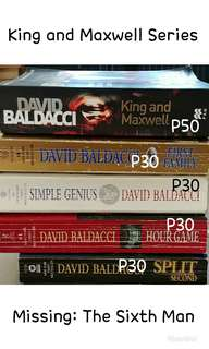 King and Maxwell Series by David Baldacci