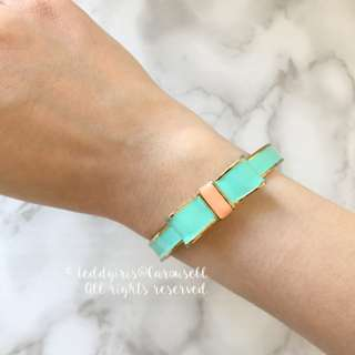 JAPAN KOREA Tiffany Blue Ribbon Bracelet 手鐲